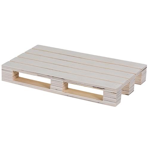 Serveer plateau pallet multiplex L 19,8 CM; 301123