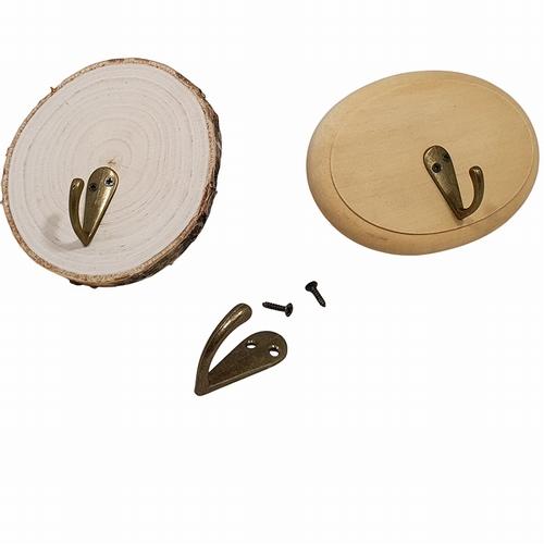 Kapstokhaak inclusief schroefjes