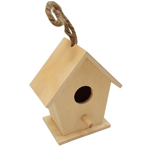 Vogelhuisje vierkant klein (3726)