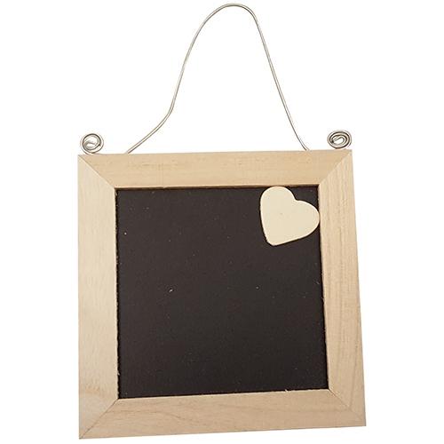 Hang frame schoolbord hartje (4924-2)