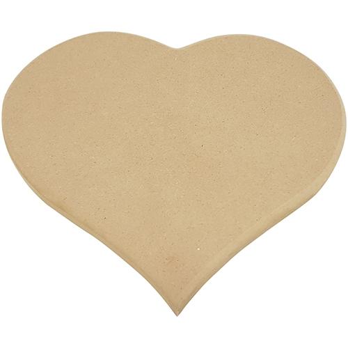 Naambord hart vorm MDF (5002)