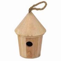 Vogelhuisje rond groot (7964)