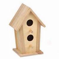 Vogelhuisje vierkant smal (3302)
