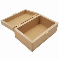 Kist rechthoek leeg MDF (5493)