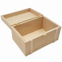 Kist rechthoek leeg met deco rand (3067)